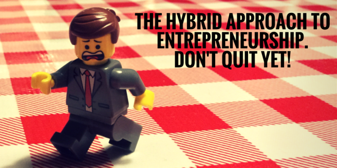 The Risk Guy - Hybrid Approach to Entrepreneurship
